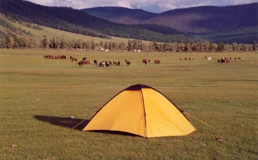 Campement vallée de l'Orkhon